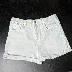 Madewell High-rise Denim Shorts - Size 27 - EUC